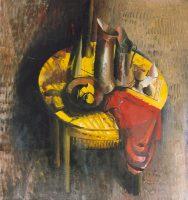 Sławomir Karpowicz: Martwa natura na żółtym stole