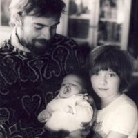 Sławomir Karpowicz: Sławomir with daughters