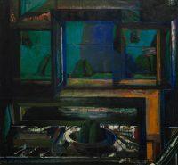 Sławomir Karpowicz: Still life 9. Still life with a cupboard