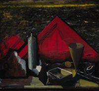 Sławomir Karpowicz: Still life with a red triangle