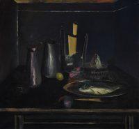 Sławomir Karpowicz: Still life 3. Inside a grey room