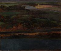 Sławomir Karpowicz: Riverside landscape
